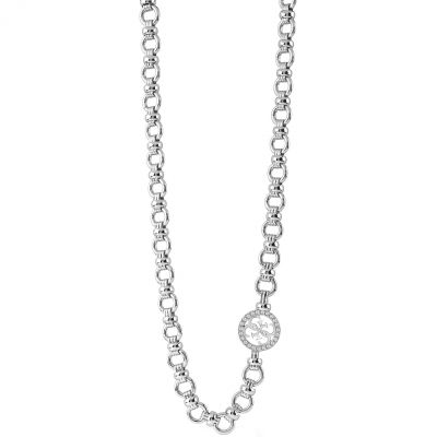 Ladies Guess Un4Gettable Silver Necklace