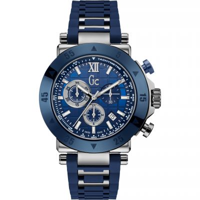 Gc Sport Chic Collection Gc-1 Sport Herrenchronograph in Blau X90025G7S