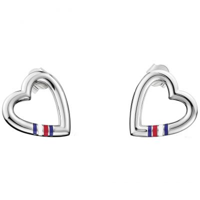 Biżuteria damska Tommy Hilfiger Jewellery Heart Stud Earrings 2700909