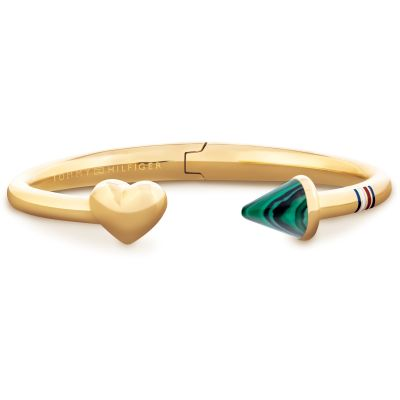 Joyería Tommy Hilfiger Jewellery Hinged Open Heart Bangle 2701039