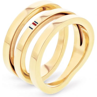 Biżuteria damska Tommy Hilfiger Jewellery Cross Over Ring Size N.5 2701100C