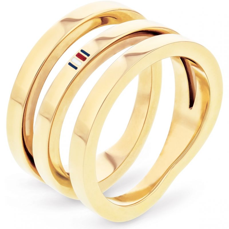 Tommy Hilfiger Jewellery Cross Over Ring 2701100D
