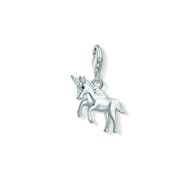 Damen Thomas Sabo Charm Club Unicorn Charm Sterling-Silber 1514-007-21