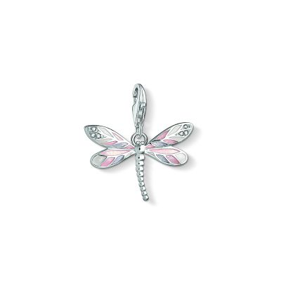 Thomas Sabo Dames Dragonfly Charm Sterling Zilver 1516-041-9