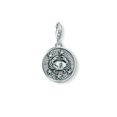 Ladies Thomas Sabo Sterling Silver Charm Club Zodiac Sign Cancer Charm 1643-643-21