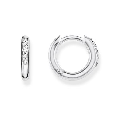 Joyería para Mujer Thomas Sabo Jewellery Medium Hinged Hoop Earrings CR613-643-14