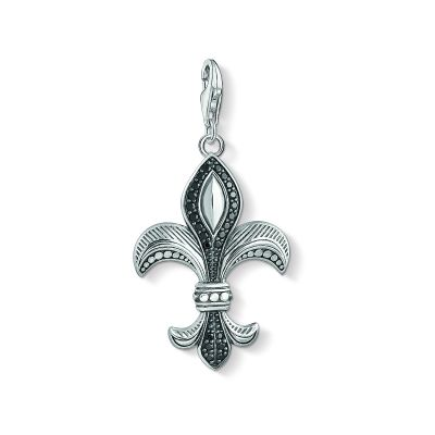 Ladies Thomas Sabo Sterling Silver Charm Club Fleur De Lis Charm Y0016-643-11
