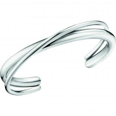 Calvin Klein Dam Double Thick Bangle Rostfritt stål KJ8XMF00010M