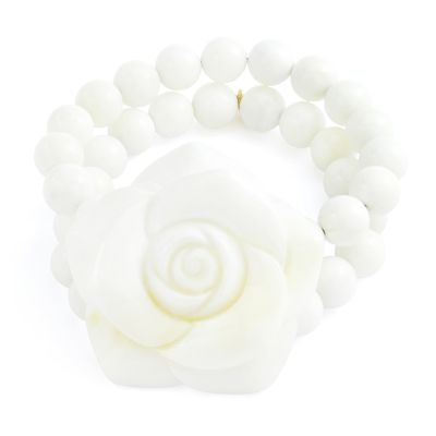 Ladies Lola Rose Mildred White Sea Shell Bracelet 2A0306-331000