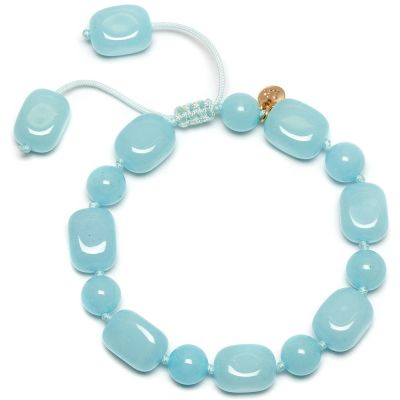 Ladies Lola Rose Gold Plated Hazel Ice Blue Quartzite Bracelet 2C0555-405000