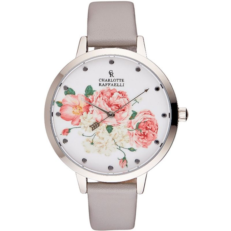 Ladies Charlotte Raffaelli Floral Watch CRF001