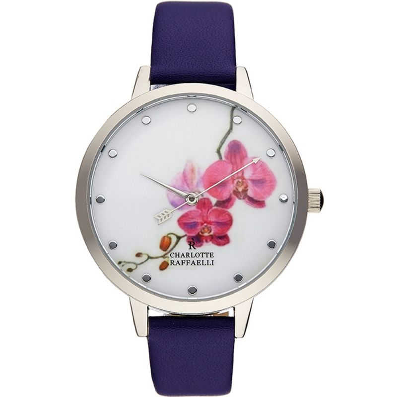Ladies Charlotte Raffaelli Floral Watch CRF022