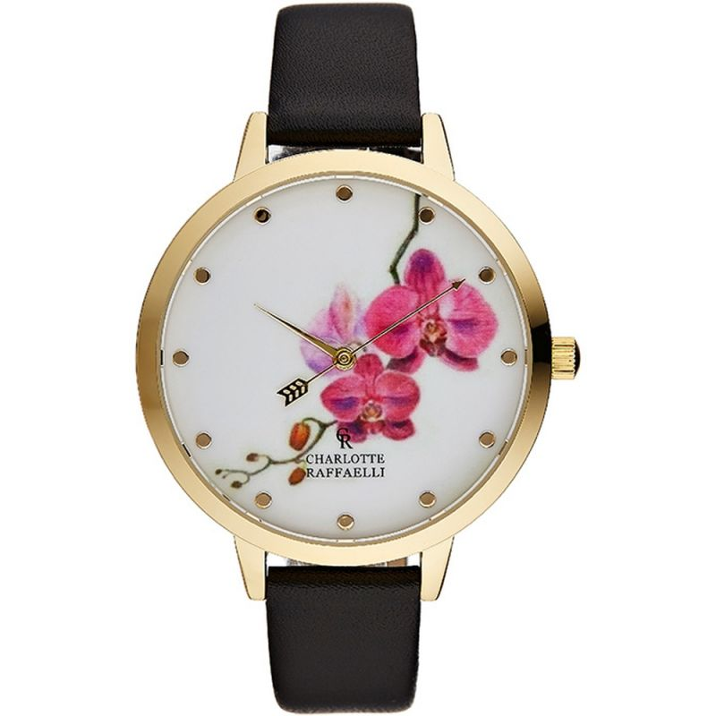 Ladies Charlotte Raffaelli Floral Watch CRF023