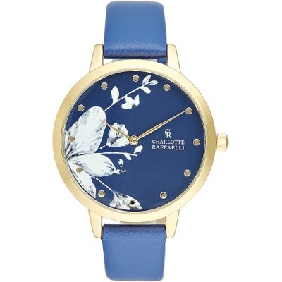 Ladies Charlotte Raffaelli Floral Watch CRF041