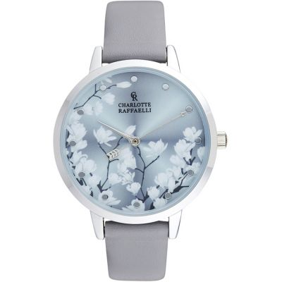 Ladies Charlotte Raffaelli Floral Watch CRF045