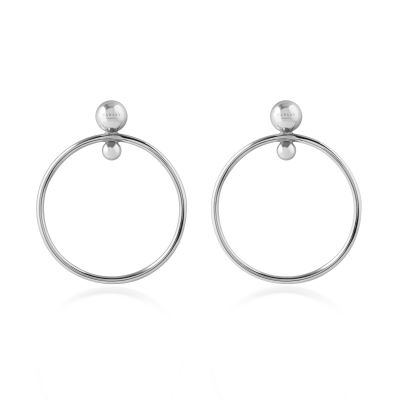 Ladies Radley Sterling Silver Bliss Crescent Earrings RYJ1017