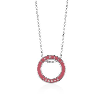 Ladies Radley Sterling Silver Esher Street Necklace RYJ2005