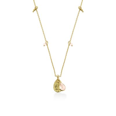Ladies Radley Gold Plated Sterling Silver In A Flutter Necklace RYJ2014