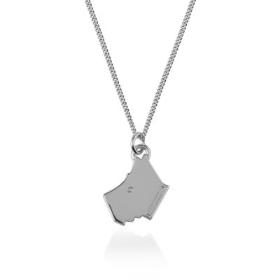 Ladies Radley Sterling Silver Love Radley Necklace RYJ2015