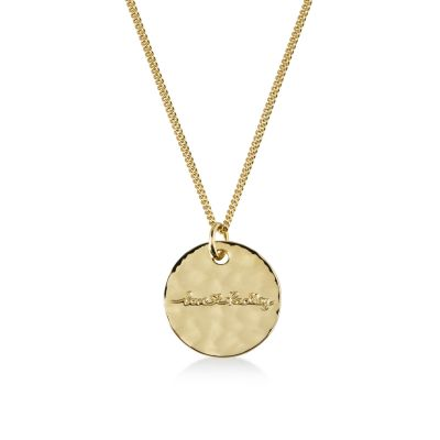 Ladies Radley Gold Plated Sterling Silver Broad Street Necklace RYJ2018