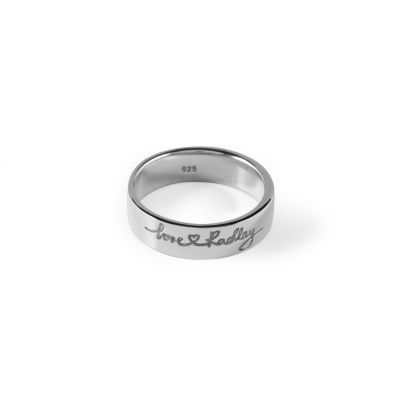 Ladies Radley Sterling Silver Love Radley Ring Size M RYJ4003-M