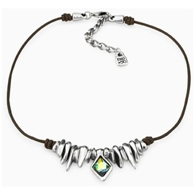 UNOde50 Dames Necklace Verguld Zilver COL1230AZUMTL0U
