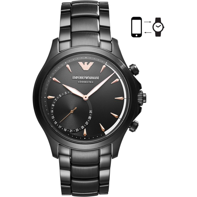 Gents Emporio Armani Connected Bluetooth Hybrid Smartwatch ART3012