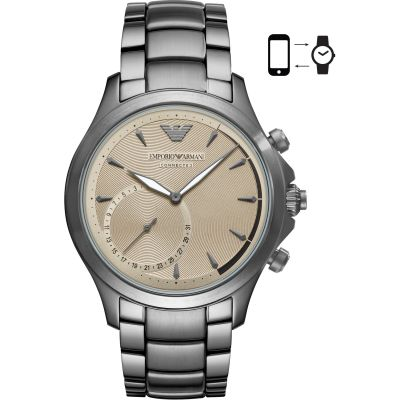 Gents Emporio Armani Connected Bluetooth Hybrid Smartwatch ART3017