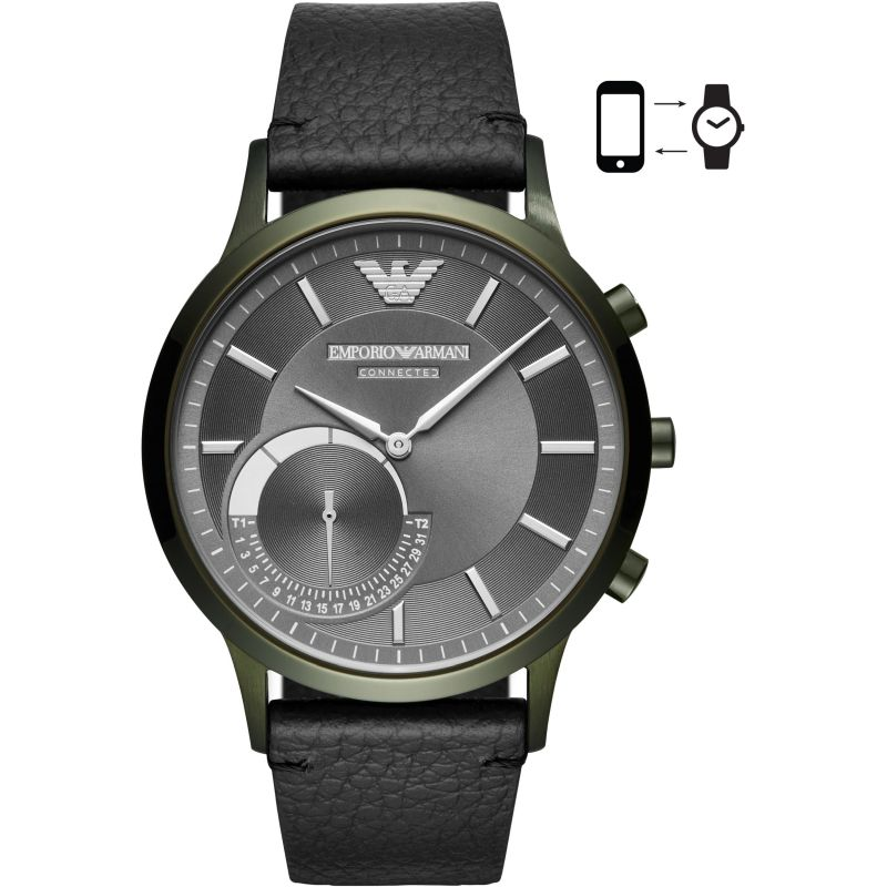 Gents Emporio Armani Connected Bluetooth Hybrid Smartwatch ART3021