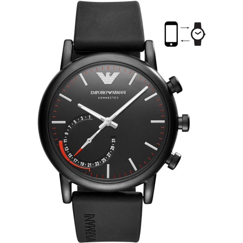 Gents Emporio Armani Connected Bluetooth Hybrid Smartwatch ART3010