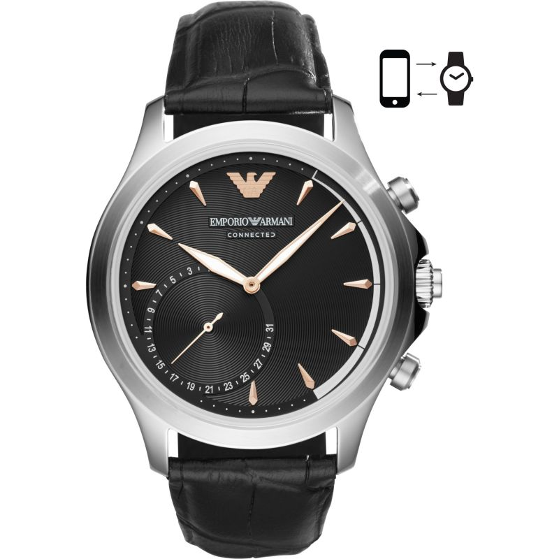 Gents Emporio Armani Connected Bluetooth Hybrid Smartwatch ART3013