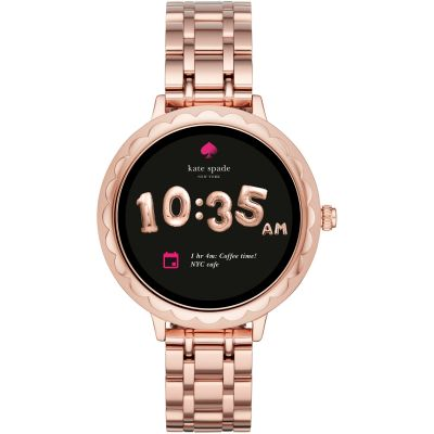 Montre Femme Kate Spade New York Connected Scallop Touchscreen Smartwatch KST2005