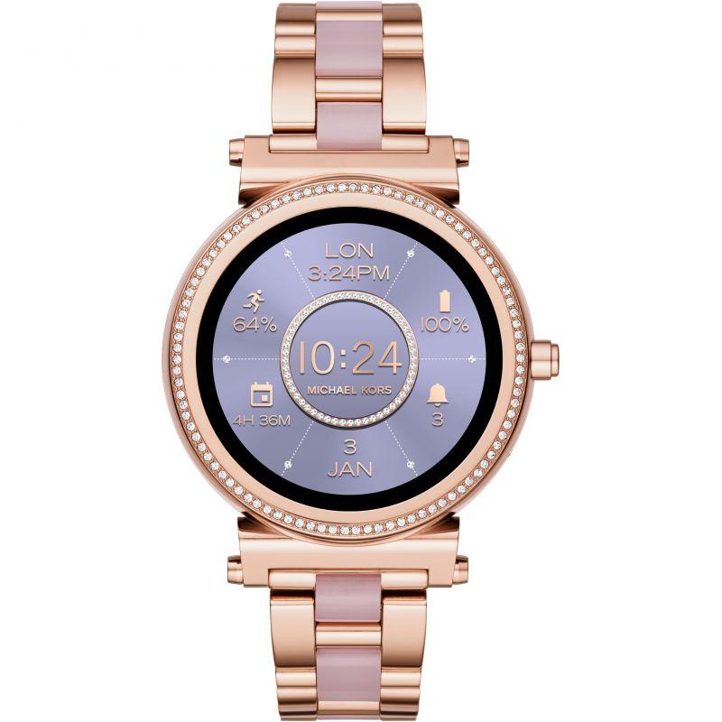 Ladies Michael Kors Access Bluetooth WearOS Sofie Smartwatch MKT5041 for £314