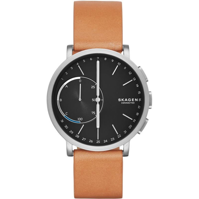 Mens Skagen Connected Hagen Connected Titanium Bluetooth Smartwatch SKT1104