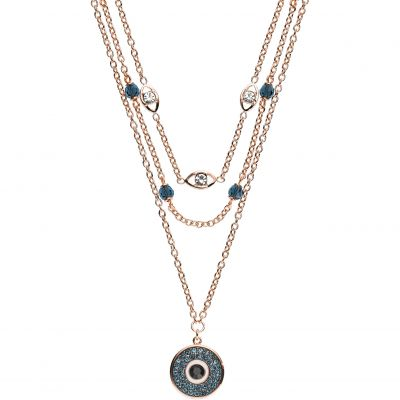 Emporio Armani Dames Layered Necklace Verguld goud EGS2530221