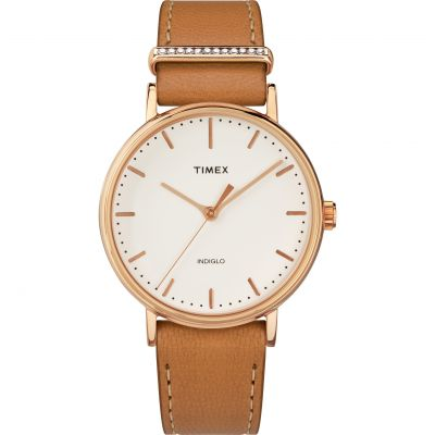 Timex Fairfield with Crystal Accent Damenuhr TW2R70200
