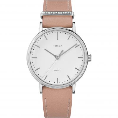 Timex Fairfield with Crystal Accent Damklocka TW2R70400