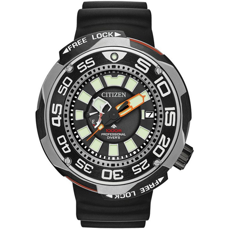 Mens Citizen Promaster Marine Divers Titanium Watch