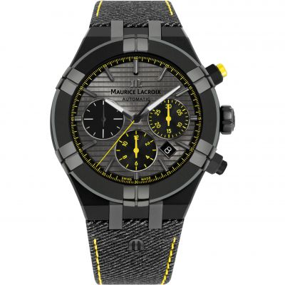 Maurice Lacroix Aikon CHASEYOURWATCH Limited Edition Herenhorloge Zwart AI6018-PVB01-331-1