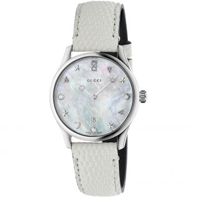 Ladies Gucci G-Timeless Watch YA126597