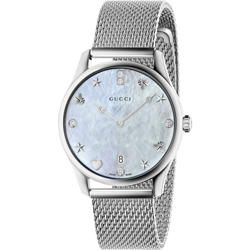 Ladies Gucci G-Timeless Watch YA1264094