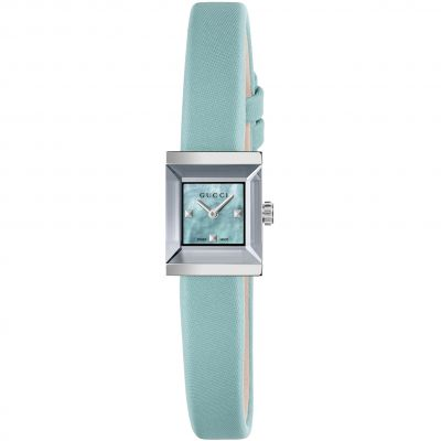 Ladies Gucci G-Frame Square Watch YA128531