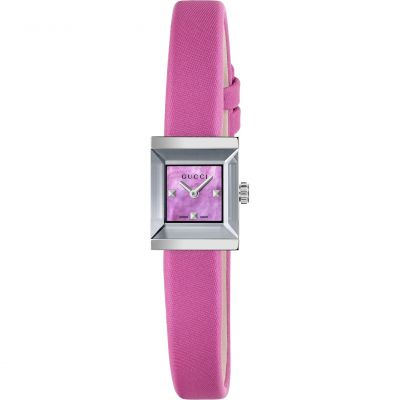 Ladies Gucci G-Frame Square Watch YA128533