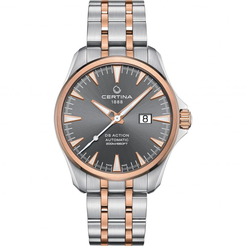 Mens Certina DS Action Big Date Automatic Watch