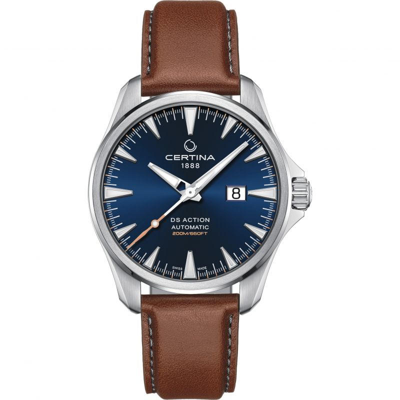 Mens Certina DS Action Big Date Exclusive Automatic Watch