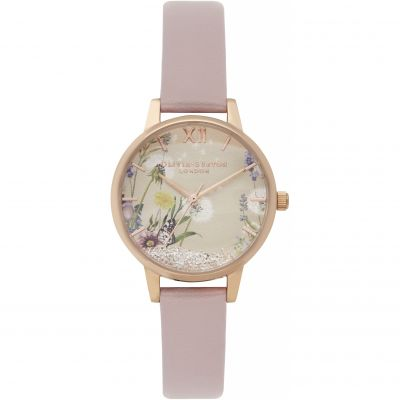 Olivia Burton The Wishing Watch The Wishing Watch Rose Gold & Rose Sand Damenuhr in Rosa OB16SG04