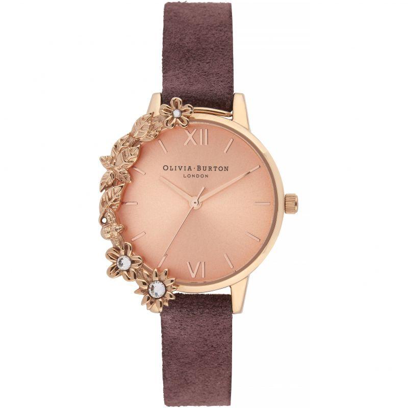 Case Cuff Diamante Midi Dial Watch