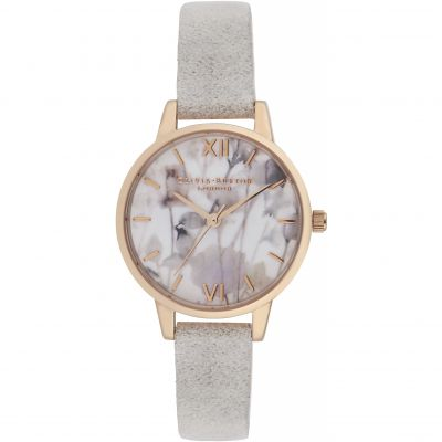 Vegan Friendly  Grey Gold & Grey Lilac Watch