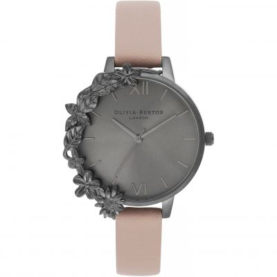 Montre Femme Olivia Burton After Dark Ip Black & Dusty Pink OB16TW06
