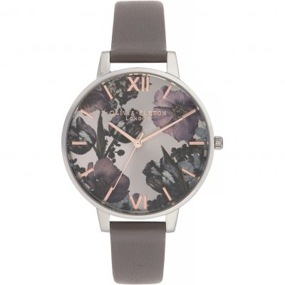 Olivia Burton Twilight Twilight Gunmetal & London Grey Damenuhr in Grau OB16TW05